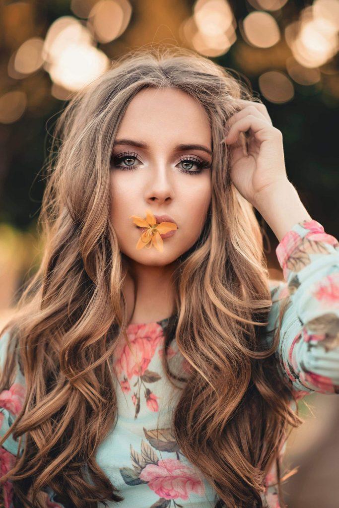 On utilise de la vitamine E pour les cheveux pour les rendre plus beaux