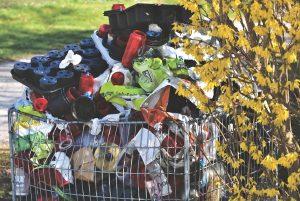 pollution liée aux vêtements déchets