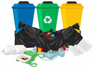 pollution liée aux vêtements poubelle