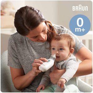 Mouche bébé électronique Braun simple à prendre en main