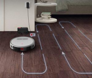 aspirateur robot connecté principe