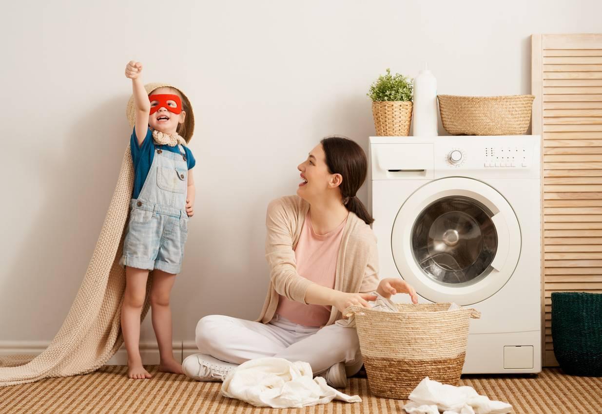 Un lavage est indispensable pour l'hygiene des textiles a la maison.